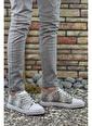 Riccon Beyaz Beyaz Erkek Sneaker 0012101 Beyaz